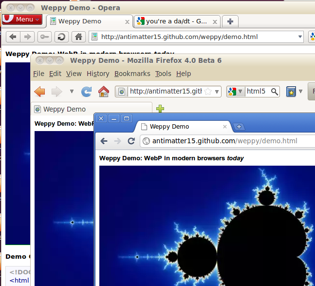 Weppy Updates Opera, Chrome and Firefox support and simpler usage